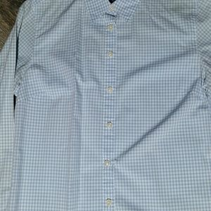 Charter Club button down gingham shirt